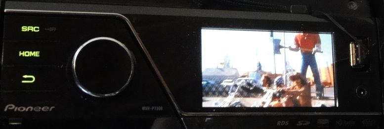 BMW Radio CLARION PU9203A - K1100lt 1992 Mvh7300